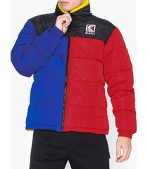 karl kani kk retro reversible puffer jacket jackor multicolor