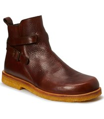 7109 shoes boots ankle boots ankle boot - flat brun angulus