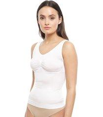 camiseta lady genny blanco - calce ajustado