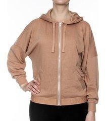 calvin klein tonal logo full zip hoodie * gratis verzending *