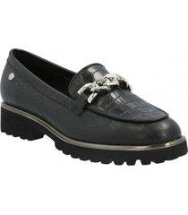 zapato de vestir cuero mujer way negro hush puppies