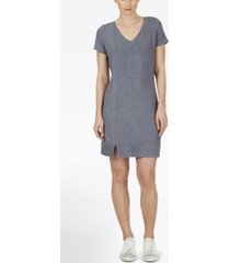 adyson parker plus size short sleeve v-neck knit dress