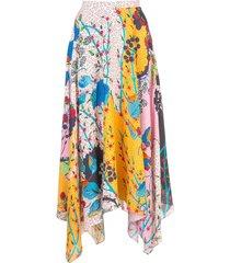 freja multi-pattern skirt