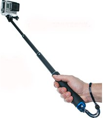 monopodo selfie sjcam gopro extensible 50 cm sumergible