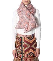 etro padded scarf