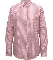 speed racer overhemd met lange mouwen roze fall winter spring summer