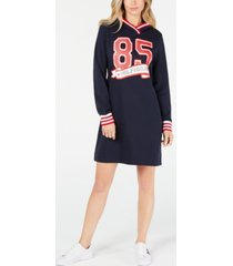 tommy hilfiger 85 hoodie sweatshirt dress