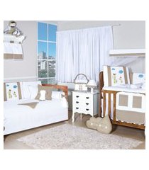 quarto completo padroeira baby girafinha capuccino