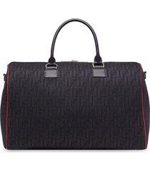 fendi ff motif travel bag - black