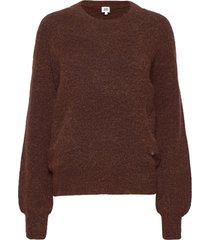 zanna sweater gebreide trui paars twist & tango