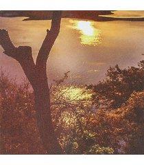 sin marco 5 panel de pared del arte sunset y árbol pintura sobre lienzo impreso cuadros de la pintura pintura de la decoración gran salón - no especificado