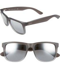 men's ray-ban 54mm sunglasses - black/ grey gradient