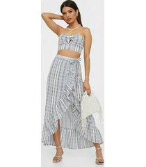 nly trend romantic babe skirt maxikjolar