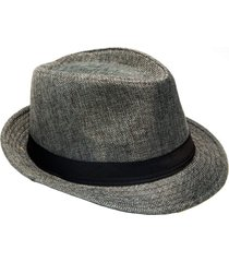 chapéu thomaston thn aba curta cinza