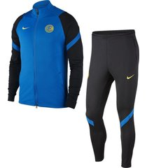 nike inter milan trainingspak 2020-2021 blue spark