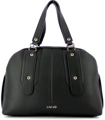 liu jo designer handbags, black bowler bag