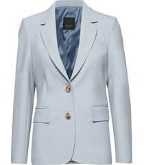 3596 - ginette blazers business blazers blauw sand