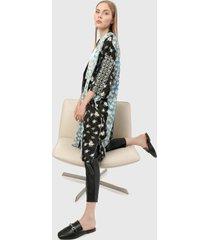 kimono azul-negro-verde-blanco paris district