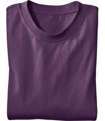 ecologisch t-shirt voor hem & haar, aubergine s