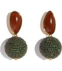 bacchus earrings