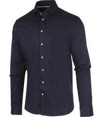 blauw blue industry james overhemd