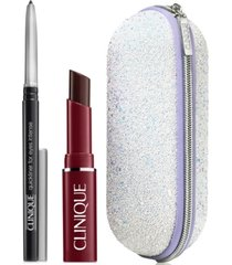 receive a free makeup duo and sonic case with any $100 clinique purchase!