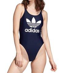 adidas originals trefoil swimsuit | navy | ed7471-trefoil