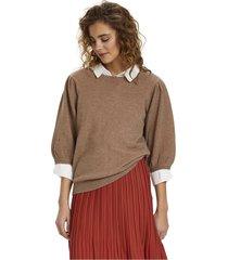 delacr knit blouse
