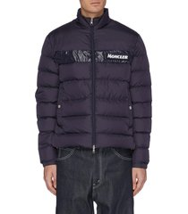 'servieres' logo patch down puffer jacket