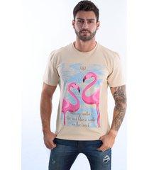 camiseta arcanos 100% algodão orgânico reta caqui