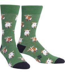 sock it to me men's dapper goats socks