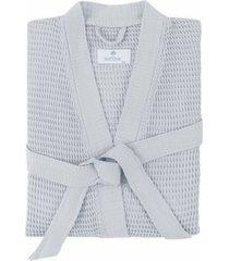 matouk kiran robe, size large/x-large - blue