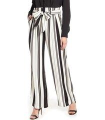 women's chelsea28 tie waist pants, size 0 - ivory