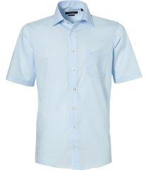 casa moda overhemd - regular fit - lichtblauw