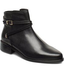 peper shoes boots ankle boots ankle boot - flat svart dune london