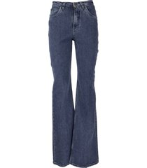 etro hight-rise flared jeans violetta