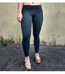 calça legging tecido emana anticelulites com bolso