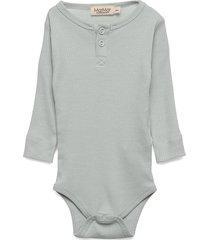 body ls bodies long-sleeved grå marmar cph