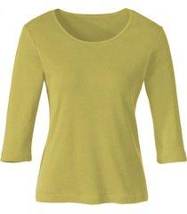 biokatoenen shirt met ronde hals, kiwi 40/42