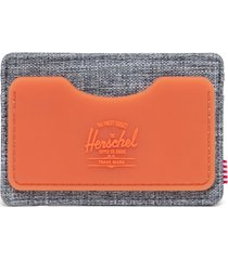 men's herschel supply co. charlie rfid card holder - grey