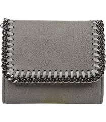 stella mccartney falabella french wallet