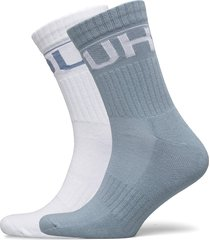 2p qs rib logo cc underwear socks regular socks blå hugo
