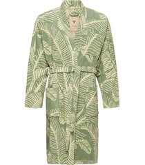 the banana leaf robe morgonrock badrock grön oas