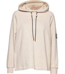 emory hoodie hoodie trui beige mother of pearl