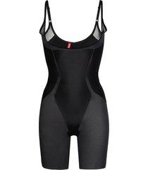 spanx haute contour scoop-neck bodysuit - black