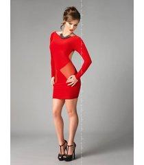 me seduce jurk sophia-rood