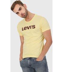 camiseta amarillo levis