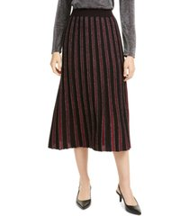 alfani pleated sweater skirt, created for macy's