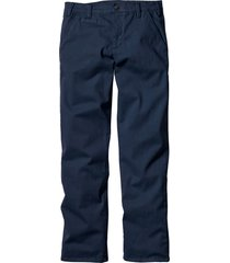 pantaloni chino elasticizzati slim fit (blu) - bpc bonprix collection