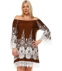 white mark women's plus size mya dress